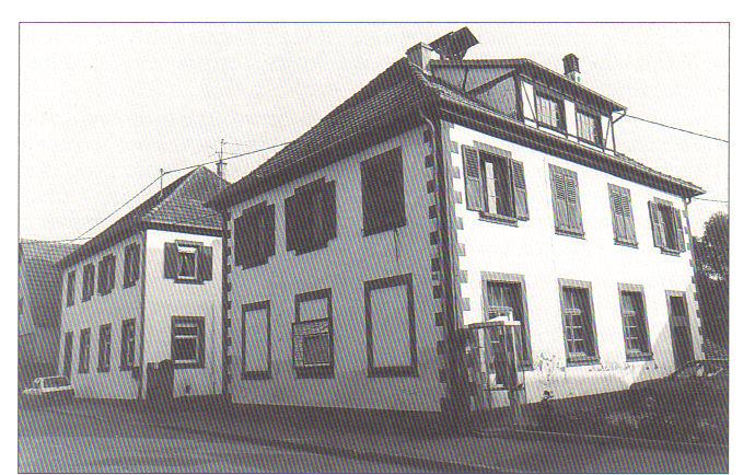 les écoles primaires d`Alteckendorf dans les années 1980